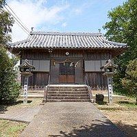 岡上神社の本殿