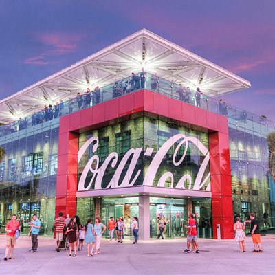 Coca-Cola Store Orlando is a must-see for top places to visit in Orlando, Florida.