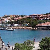 Porto Cervo Le port coté restaurant