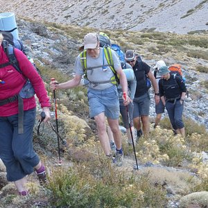 Trekking in the Lefi Ori