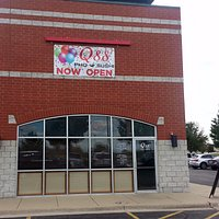 front of the newly opened Q88 Pho & Sushi