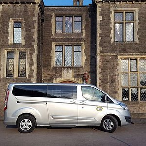 1-8 seats long wheel base and lots of space.