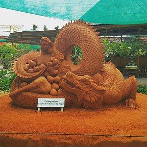 Вьетнамская легенда о фее Ау Ко и драконе Лак Лонг Куан