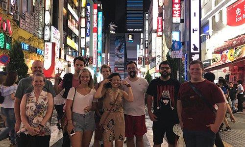 Shinjuku Night Free Walking Tour