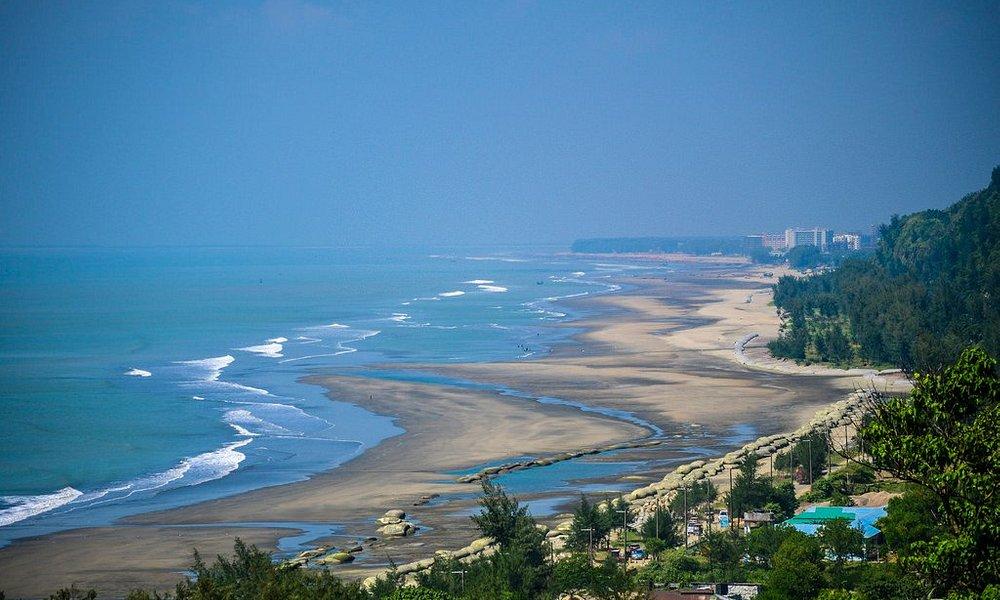 Longest sea beach in the world cox's bazar