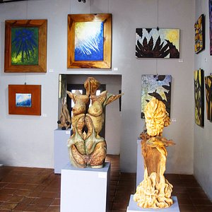This photo shows the main room of the Gallery.