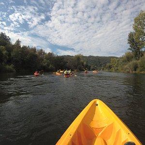 Vista do kayak