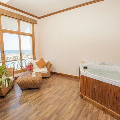 Enjoy massage in our sea view massage rooms! Discover Planet Spa!