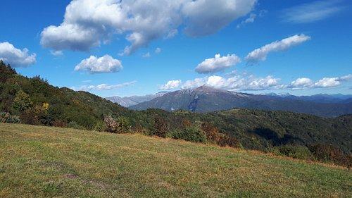 Panorama d'Ottobre dal Joanaz.