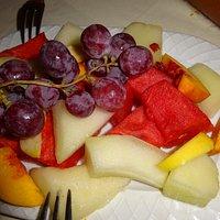 fruits en dessert