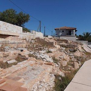 The Roman cemetery