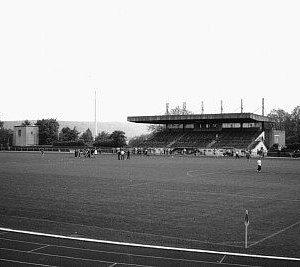 Stadion Kieselhumes 1950