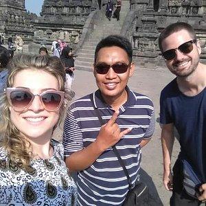Borobudur guided tour