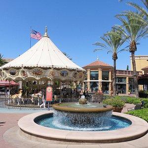 The pleasant Spectrum Center in Irvine. CA (16/Aug/17).