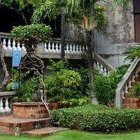 External staircase at Casa Gorordo in Cebu