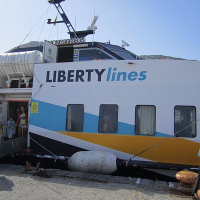 Liberty in Milazzo sea-port