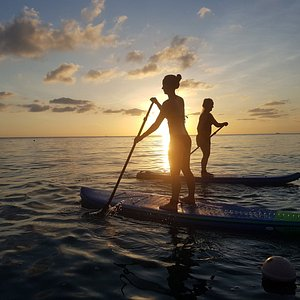 Gorgeous Sunrise Paddle.  Love the silhouettes.