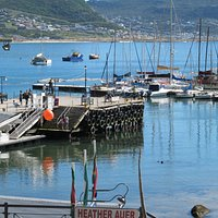 The old Jetty in Simon's Town built in 1921.