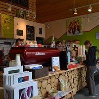 Inside Caribou Crossing Coffee