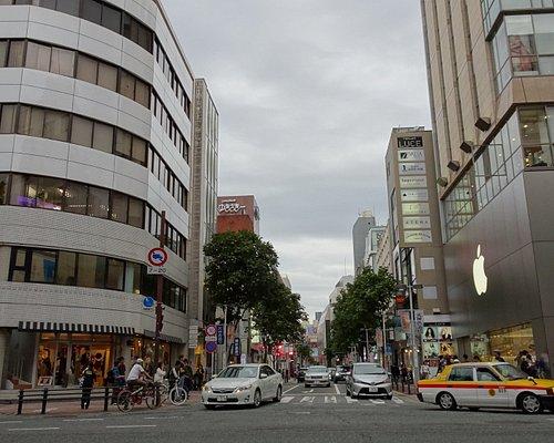 Shopping district in wijk Tenjin ( rond Fukuoka Station )
