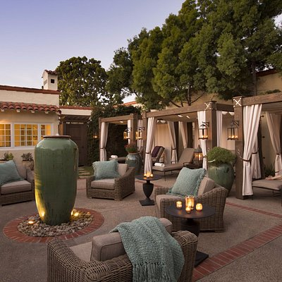 Spa Relaxation Courtyard