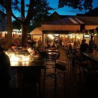 Night Time patio vibes