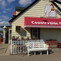 Peg's stands out from the urban sprawl surrounding this quaint, small-town favorite.