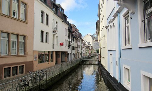 Larger canal