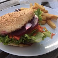 Classic kiwi burger
