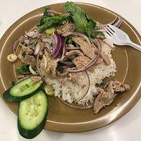 Nham tok beef