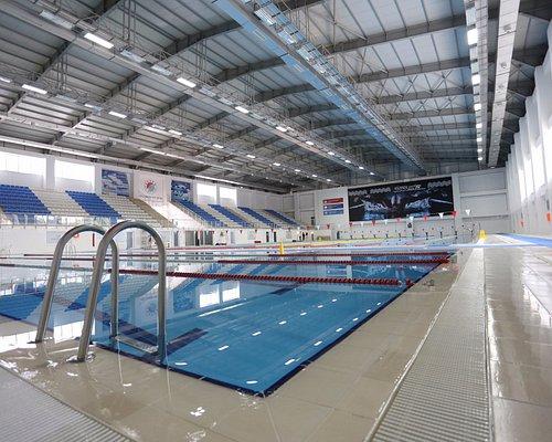 Varsak'ta muhteşem Tam Olimpik Kapalı Yüzme Havuzu