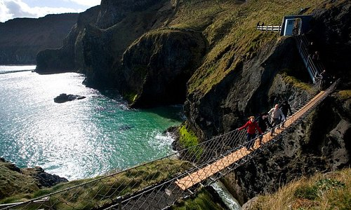 Carrick-a-Rede Rope Bridge, Causeway Coastal Route, County Antrim