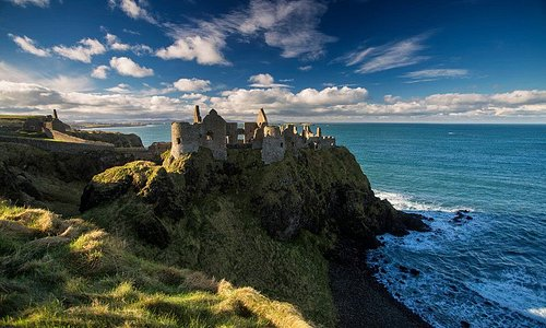 Dunluce Castle, Causeway Coastal Route, County Antrim