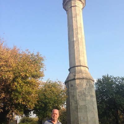 Cami yok sadece minaresi kalmış
