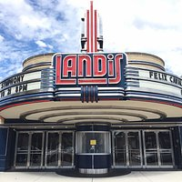 Renovated Landis Theater Marquee