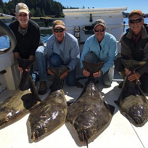 Great day halibut fishing!
