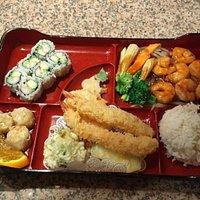 Shrimp Bento Box Dinner