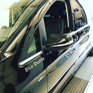 Blue Shuttle service