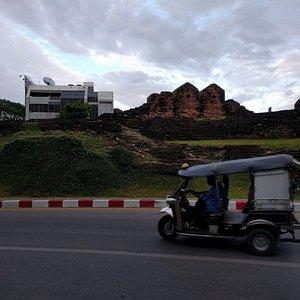 SE Corner of Moat - Ring Road