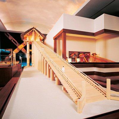 出雲大社高層神殿1/10模型
