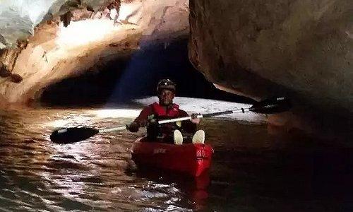 Cave Kayaking in Belize