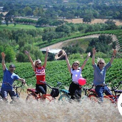 Electric Bike Adventure in Santa Barbara Wine Country (Los Olivos - Solvang)