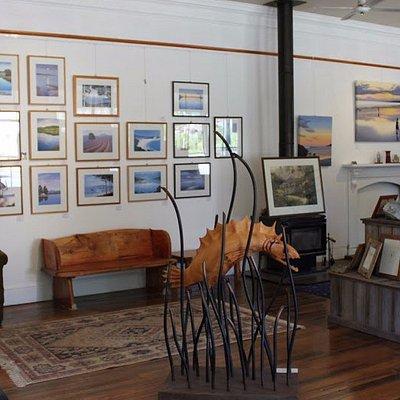 Inside of Stanley's Studio / Gallery