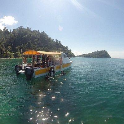 Mother Tanker dive boat for Diverse Borneo in Kota Kinabalu