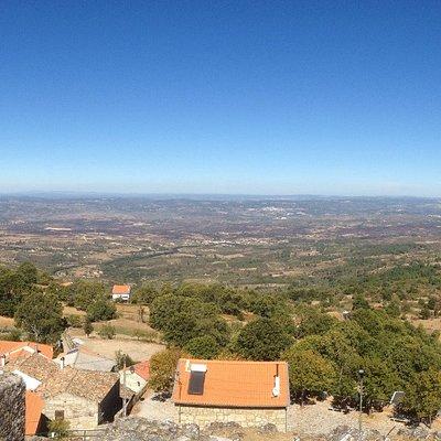 Vista do Castelo de Folgosinho