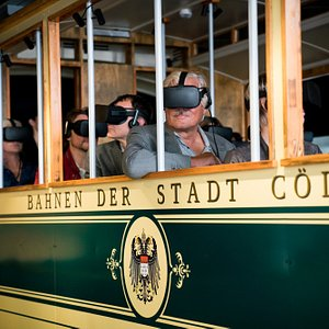 Our Highlight: A virtual tram ride through Cologne as it was 100 years ago.