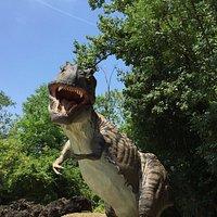 T-Rex al Parco della Preistoria