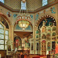 Interior of Holy Trinity Cathedral.
