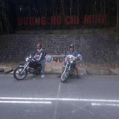 Motorbike On Trail Vietnam