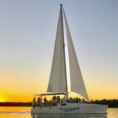 Sunset sail aboard The Spirit of Dallas.